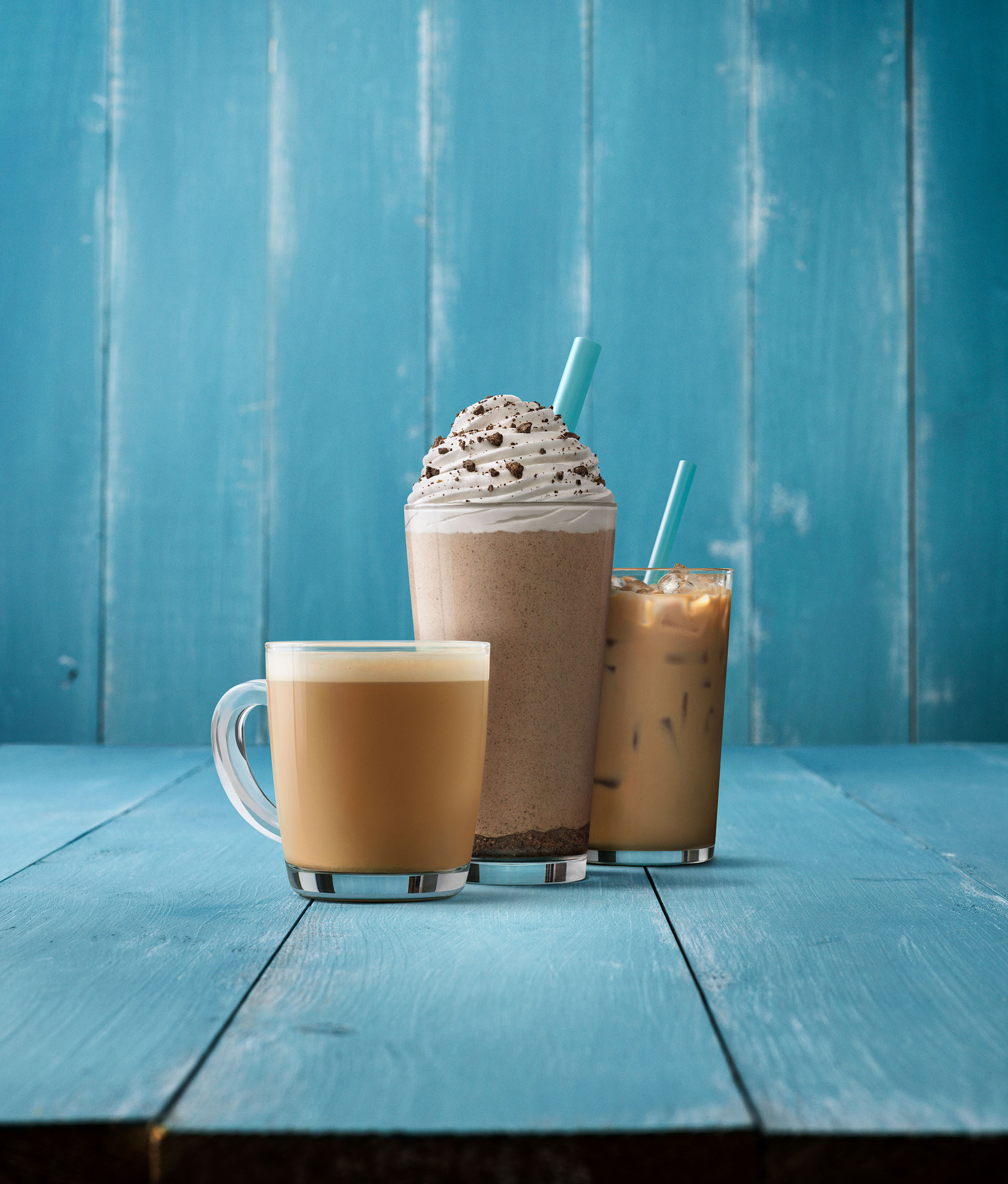 CARIBOU COFFEE AZUL 1