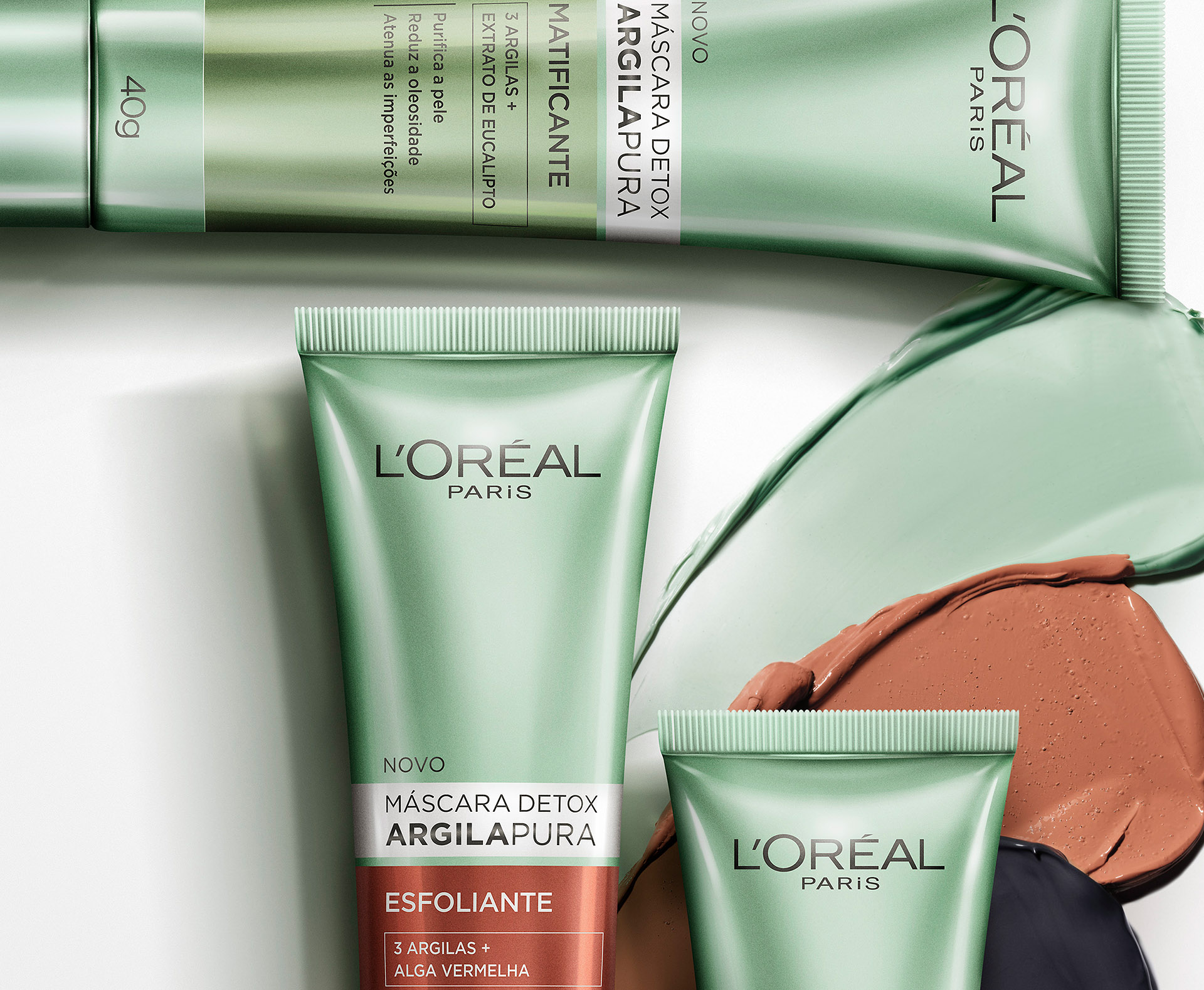 LOREAL PACK CLAY 01 ZOOM